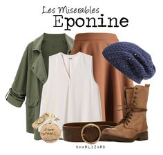 """""""Eponine"""" by charlizard ❤ liked on Polyvore featuring Dolce&Gabbana, Streets Ahead, Steve Madden, Nordstrom, LesMiserables, broadway, musicals, lesmis and Eponine"""