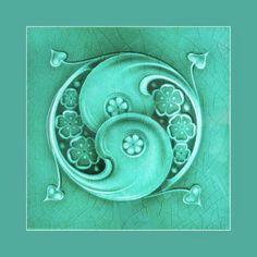Image result for art nouveau tiles