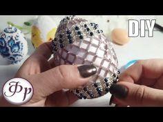ПАСХАЛЬНЫЙ ДЕКОР || Как оплести яйцо бисером? Beaded Egg - YouTube