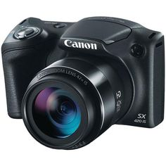 Canon PowerShot Digital Camera w/ Optical Zoom - Wi-Fi and NFC Enabled (Black). Liverpool, Dslr Photography Tips, People Photography, Smart Auto, Camera World, Optical Image, Camera Nikon, Canon Cameras, Point And Shoot Camera