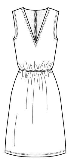 Illustrator Dress