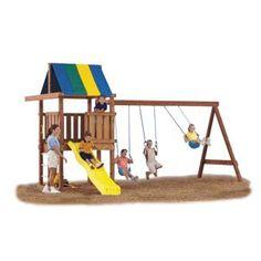 Swing-n-Slide Wrangler Custom DIY 12 Piece Swing Set Hardware Kit (Wood Not Included) Swing Set Kits, Wood Swing Sets, Swing Set Plans, Big Kid Swing Set, Swing Set Hardware, Swing Set Accessories, Diy Swing, Swing And Slide, Backyard Playground