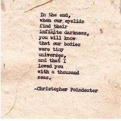 The Universe and Her, and I #318 written by Christopher Poindexter