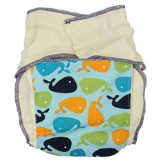 Nicki's Diapers Snapless Fitted Cloth Diaper - these would make great newborn diapers!