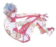 Guro anime boy Kuroko no Basket <<OMG NOOOO MY FEELINGS ARE DEAD (now I want knb guro tho where can I find more pls XD)