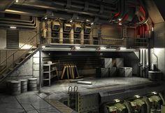 mech bunker