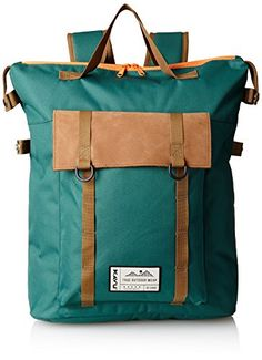 KAVU Men's Rainier Rucksack Bag, Hunter Green, One Size KAVU http://www.amazon.com/dp/B00K68HMMU/ref=cm_sw_r_pi_dp_MUwrvb0NFK0FN