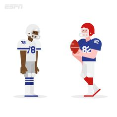 ESPN - Classic Super Bowl Moments on Behance