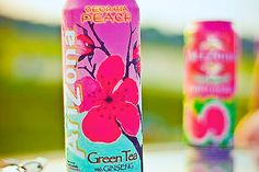 Arizona Tea = drink of choice.