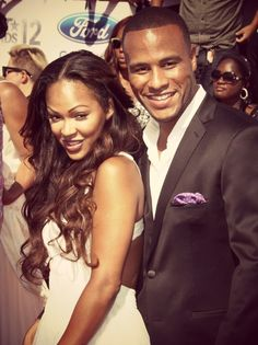 Meagan Good and Hubby Devon Franklin Black Celebrity Couples, Black Love Couples, Hot Couples, Famous Couples, Power Couples, Married Couples, Celebrity Pictures, Black Marriage, Love And Marriage