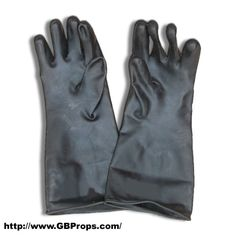 Chemical Gloves similar to the ones the Ghostbusters used! Description from gbfans.com. I searched for this on bing.com/images