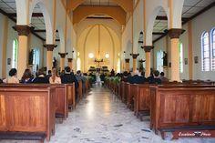 La estructura de los templos son impresionantes y mas cuando se llenan de momentos inolvidables. #templo #catolico #boda