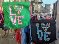LOVE Cinch Backpacks - $3.00 each (we've got lots!)