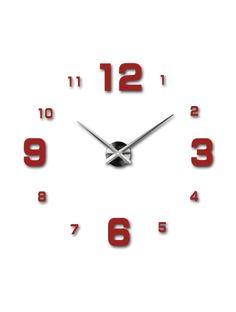 Vergrößern Design Wanduhr aus Kunststoff. 3D-Uhr an der Wand. Design Wanduhr aus Kunststoff. 3D-Uhr an der Wand. 3D Klebstoff Wanduhr - FRANZ Artikel-Nr.:  12S005-RAL3002-S-COLOR** Zustand:  Neuer Artikel  Verfügbarkeit:  Auf Lager  Wählen Sie eine Farbe selbst! Die Zeit ist gekommen, viel mehr gemütlich realít neue Uhr. 3D große Wanduhr ist eine
