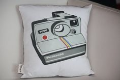 VINTAGE retro INSPIRED poloroid camera PILLOW by kayciwheatley, $48.00