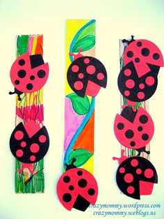 bookmark craft (use card stock instead) Bookmark Craft, Bookmarks Kids, Bookmark Ideas, Classroom Charts, Classroom Ideas, Swap Party, Crafts For Kids, Arts And Crafts, Free Blog