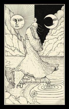 The Fool ( Tarot Card ) by erikemiranda.deviantart.com on @DeviantArt