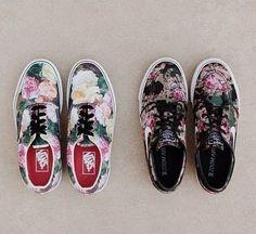 #flower #vans