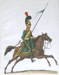 Lancer of the Guard - The Westphalian Army in 1810: the Uniform Plates of Alexander Sauerweid