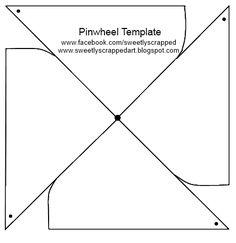 pin wheel template