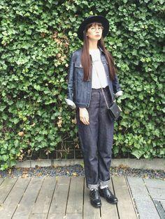 Kazumi A.P.C.のデニムジャケットを使ったコーディネート - WEAR