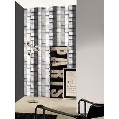 Papier peint Cubes en relief noir et blan - Papier peint Illusion 2 de Montecolino  #3D #wallpaper #grey #new http://www.papierspeintsdirect.com/papier-peint/collection-illusion-2/marque-montecolino.html