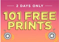 Shutterfly Canada 2-Days FREE Prints Offers: Get 101 FREE Prints with Promo Code http://www.lavahotdeals.com/ca/cheap/shutterfly-canada-2-days-free-prints-offers-101/110183