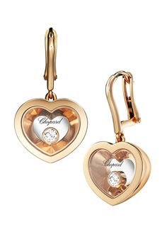 The Very #Chopard Earrings - A contemporary look for an enchanted evening