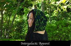 Reversible Festival Hood with Aventurine by IntergalacticApparel