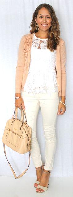 Today's Everyday Fashion: Ivory & White — J's Everyday Fashion
