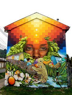 Art und Kunst 40 Creative Street Art That Makes You Think Impressive Strange Funny How To Cho Art Blog, Art Museum, Chalk Art, Public Art, Amazing Art, Murals Street Art, Art, Graffiti Art, Building Art