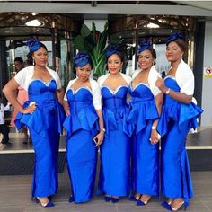 Lovely bridesmaids, love the matching errthing especially the shoes :-) Their makeup by @adaartstudio #NWbms #Bridesmaids #nigerianwedding #nigerianweddingpictures