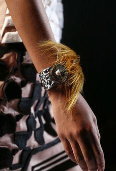 Tendances bijoux Fashion Week printemps-été 2014 Fendi Delfina Delettrez