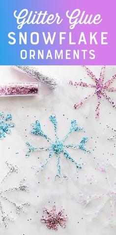 DIY Glitter Glue Sno