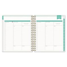 2017-2018 Day Designer Academic Planner Daily Monthly - Gold Dots