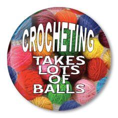 Crocheting Takes Lots of Balls