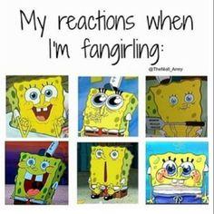 Fangirl over funny Fangirl memes 5sos, Marvel Dc, Fangirl Problems, Funny Memes, Hilarious, Dankest Memes, Fandom Memes, Spongebob Memes, Spongebob Squarepants