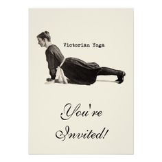 Yoga Victorian style! :-) Loved and pinned by www.downdogboutique.com