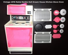 Vintage 1978 BARBIE DREAM HOUSE Kitchen Stove Oven mattel | eBay