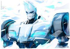 Blizzard Sideswipe