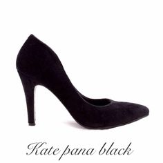 Kate pana black colección NIKKA inv 2014 #nikka #nicoleneumann #kate #pana #black #fashion #shopping #shoes #crueltyfree