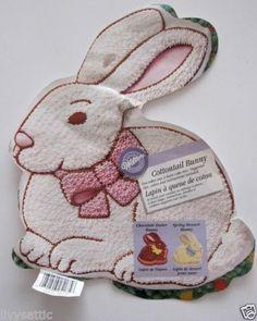 Wilton Cottontail Bunny Cake Pan Instructions