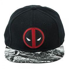 Marvel Deadpool Logo Sublimated Bill Snapback