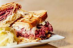 Sándwich de Philadelphia de carne y queso