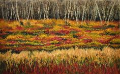 Landscape Embroidery - Fiona Robertson - Textile Artist