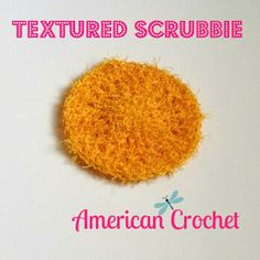 Textured Scrubby By