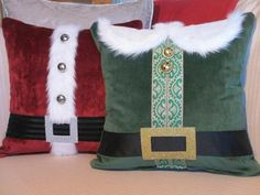 Sewing pillows decorative diy projects fun 32 Ideas for 2019 Sewing Pillows Decorative, Diy Pillows, Christmas Cushions, Christmas Pillow Covers, Elf Decorations, Christmas Decorations, Holiday Decor, Christmas Sewing, Christmas Fun