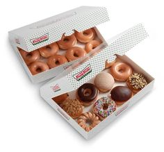 Krispy Kreme donuts are good at any time in any setting..