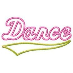 See It All :: Dance Applique
