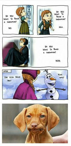 This is so funny I don't really know why else I can be so mean at times but she has a warm heart in there and I want you guys to remember that #frozen